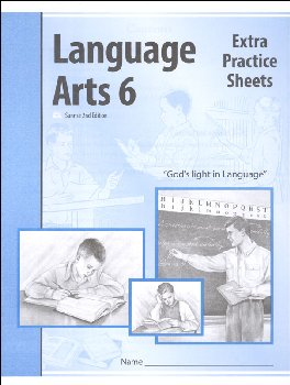 Language Arts 6 Extra Practice Sheets Sunrise 2nd Edition