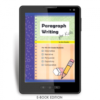 Paragraph Writing for Kids e-book