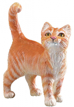 Orange Tabby Cat (Safari Farm)