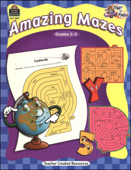 Amazing Mazes - Start to Finish Grades 2-3