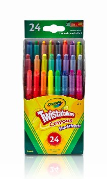 Crayola Mini Twistables Crayons - Fun Effects 24 count