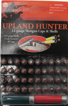 Upland Hunter 12 Gauge Side by Side Shotgun Caps