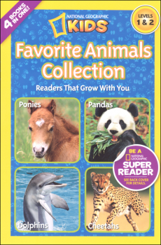 Favorite Animals Collection (National Geographic Reader Levels 1 & 2)