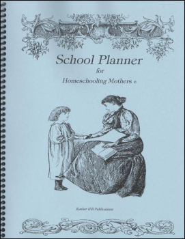 Schooling Planner for Homeschooling Mothers - Blue