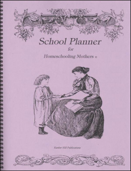 Schooling Planner for Homeschooling Mothers - Orchid