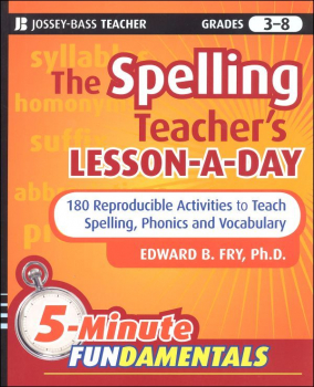 Spelling Teacher's Lesson-a-Day