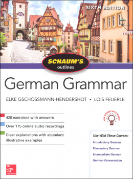Schaum's Guide to German Grammar (Sixth Ed.)