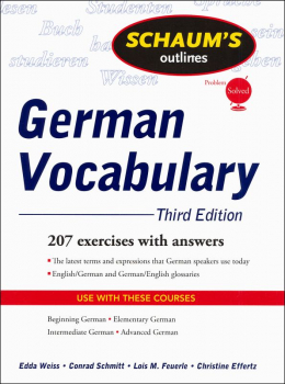 Schaum's Guide to German Vocabulary 3ED
