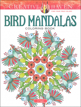 Bird Mandalas Coloring Book (Creative Haven)