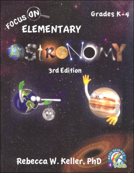Focus On Elementary Astronomy Student Textbook (3rd Edition) softcover