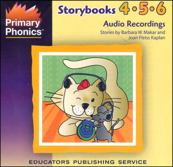 Primary Phonics Storybooks 4-5-6 Audio CD