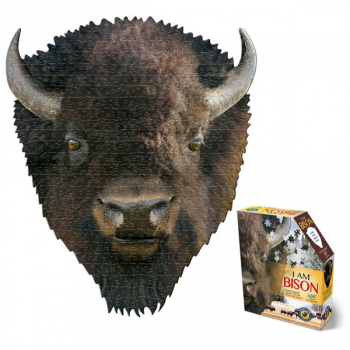 I AM Bison Puzzle 550 Pieces (Madd Capp Puzzles)