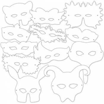 Shakespeare Masks (package of 24)