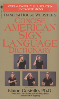 Concise American Sign Language Dictionary