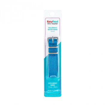 EasyRead Time Teacher Children's Watch Strap - Bright Blue