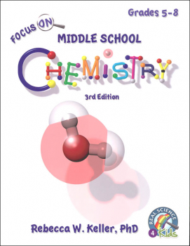 Focus On Middle School Chemistry Student Textbook (3rd Edition) softcover