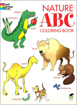Nature ABC Coloring Book