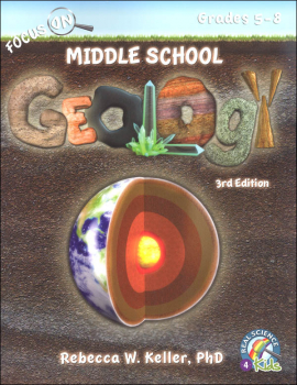 Focus On Middle School Geology Student Textbook (3rd Edition) softcover