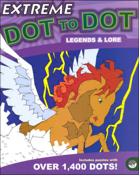 Extreme Dot to Dot Book - Legends & Lore