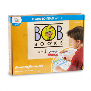 Learn to Read with BOB Books and VersaTiles Advancing Beginners Set
