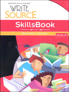 Write Source (2012 Edition) Grade 10 SkillsBook Teacher