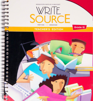 Write Source (2012 Edition) Grade 10 Teacher's Edition