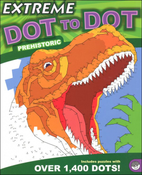 Extreme Dot to Dot Book - Prehistoric
