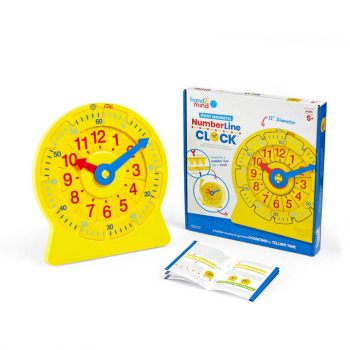 "Magnetic Number Line Clock ""13"""