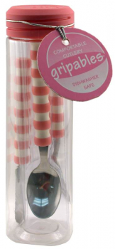 Gripables Comfortable Cutlery - Pink