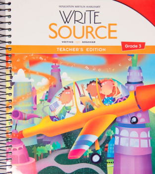 Write Source (2012 Edition) Grade 3 Teacher's Edition