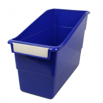 Tattle Shelf File - Blue