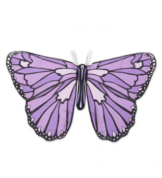 Colorful Butterfly Wings - Dark Purple