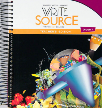 Write Source (2012 Edition) Grade 7 Teacher's Edition