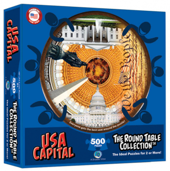 USA Capital 500-piece Puzzle (Round Table Collection)