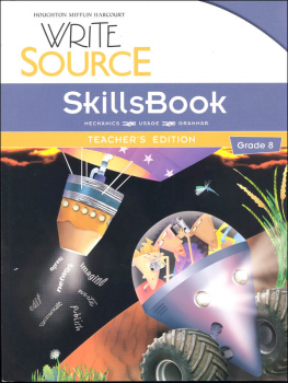 Write Source (2012 Edition) Grade 8 SkillsBook Teacher