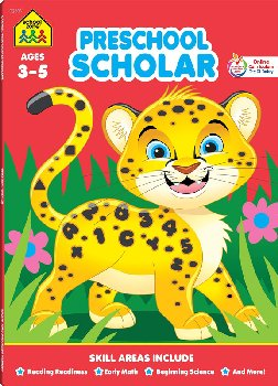 Preschool Deluxe Scholar Workbook