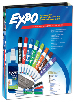 Expo Low Odor Marker Kit