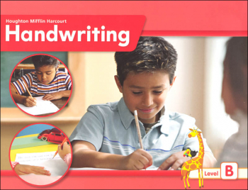 HMH Handwriting Ball and Stick Student Edition Grade 2: Level B