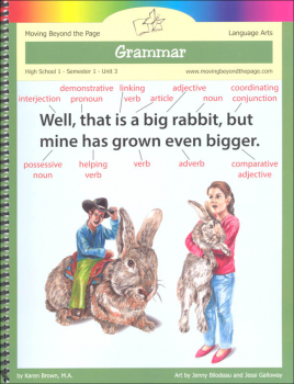 Grammar Part 1 Language Arts Unit (High School Semester 1)