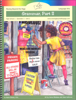 Grammar Part 2 Language Arts Unit (High School Semester 2)
