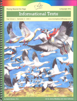 Informational Texts Language Arts Unit (High School Semester 2)