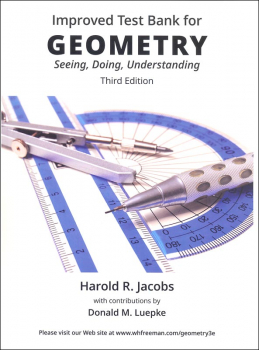 Geometry: Seeing, Doing and Understanding Testbank  Third Edition (My Father's World prining)