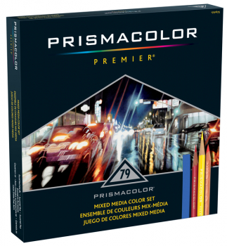 Prismacolor Mixed Media Set (79 pieces)
