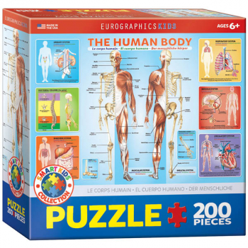 Human Body Puzzle - 200 pieces