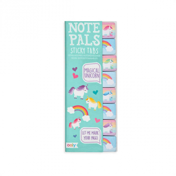 Note Pals Sticky Tabs - Magical Unicorn