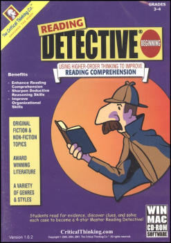 Reading Detective Beginning Software