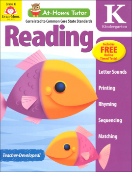 At-Home Tutor: Reading Grade K