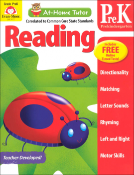 At-Home Tutor: Reading Grade PreK