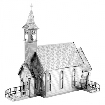 Old Country Church (Metal Earth 3D Model)