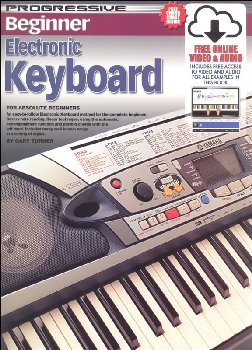 Progressive Beginner Keyboard w/ CD+bonus DVD